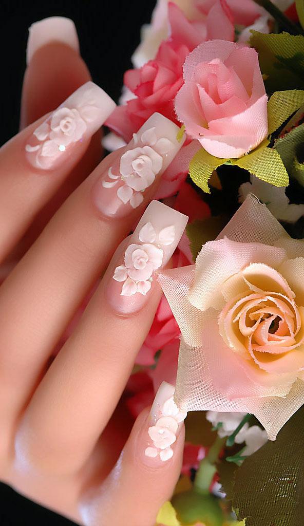 нарощенные ногти фото