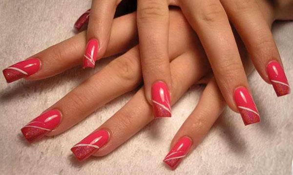 узор для ногтей: