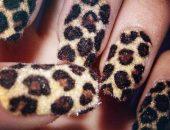 Леопардовый маникюр фото-77