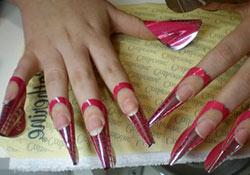 Как делать наращивание ногтей акрилом