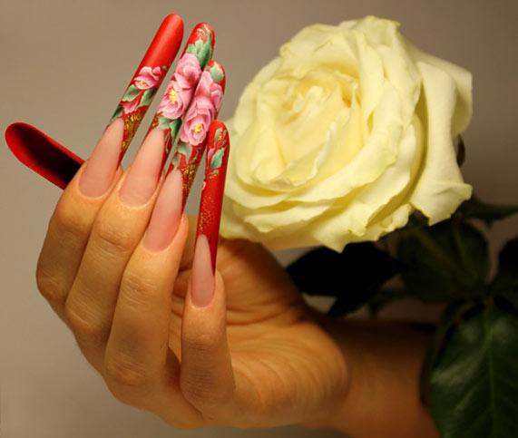 Наращивание ногтей гелем - преимущества