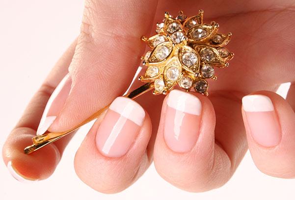 Ногти нарощенные фото френч