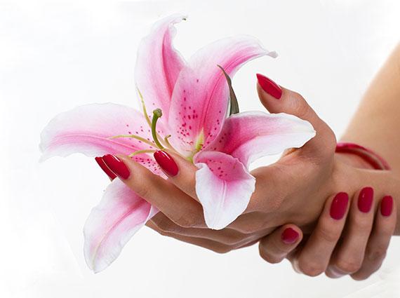 Цветной биогель для ногтей фото