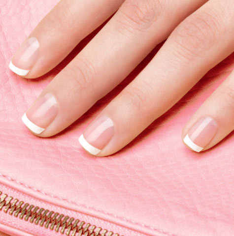 Французский маникюр на коротких ногтях как сделать