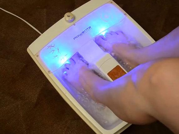 Гидромассажные ванночки для ног польза