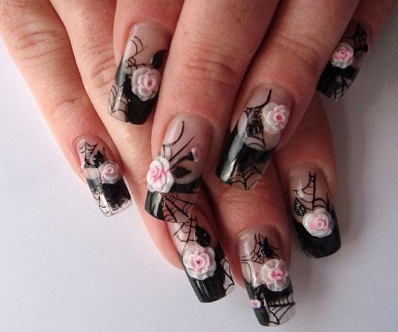 3d дизайн ногтей фото