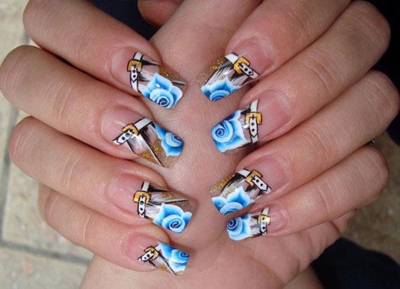 Дизайн ногтей фото-70