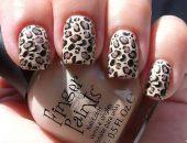 Леопардовый маникюр фото-89