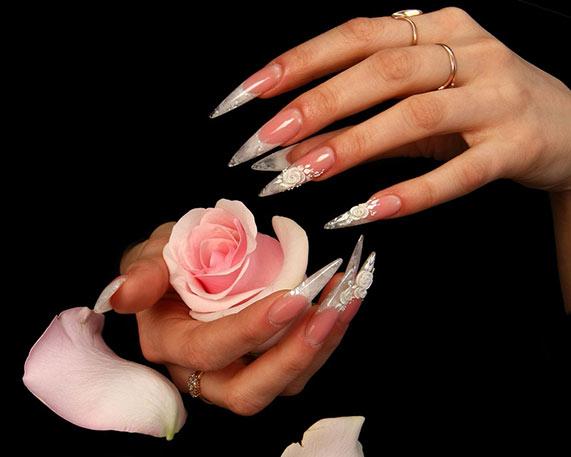 Наращивание ногтей история