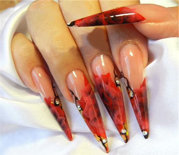 процедура наращивания ногтей гелем