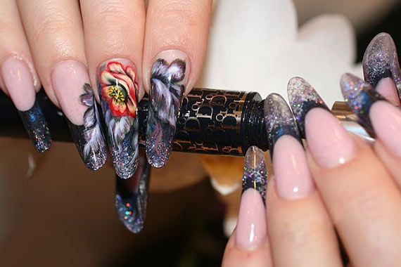 Этапы наращивания ногтей гелем