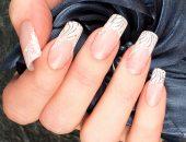 Френч красивый на короткие ногти