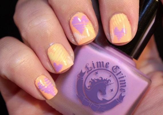 Самый нежный дизайн ногтей с сердечками