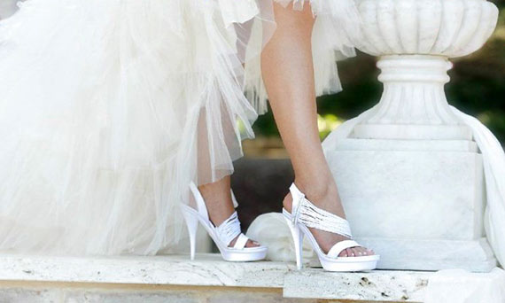 Свадебный педикюр фото