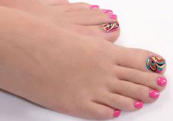 Дизайн педикюра — дизайн ногтей ног