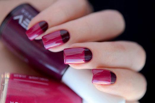 Красивое сочетание цветов на ногтях
