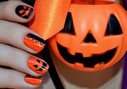 Как сделать маникюр на хэллоуин