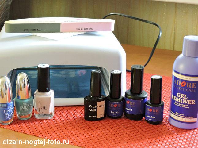 Как сделать морской дизайн ногтей