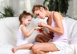 Лечение заусенцев у детей