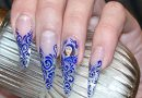 Вензель на ногтях — красиво и изысканно