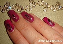 Как приклеить наклейки и слайдеры на ногти